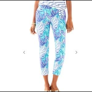 Lilly Pulitzer NWT Kelly skinny ankle pant
